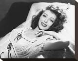 Loretta Young Stretched Canvas Print