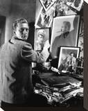 Kirk Douglas Stretched Canvas Print