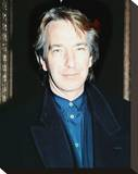 Alan Rickman Stretched Canvas Print
