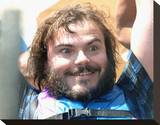 Jack Black Stretched Canvas Print