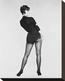 Juliet Prowse Stretched Canvas Print