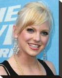 Anna Faris Stretched Canvas Print