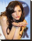 Katherine McPhee Stretched Canvas Print