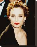 Kristin Scott Thomas Stretched Canvas Print