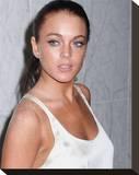 Lindsay Lohan Stretched Canvas Print