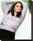 Pamela Sue Martin Stretched Canvas Print