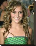 Alyson Stoner Stretched Canvas Print