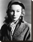 Joan Greenwood Stretched Canvas Print