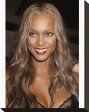 Tyra Banks Stretched Canvas Print