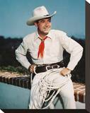 Johnny Mack Brown Stretched Canvas Print