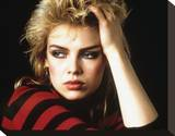 Kim Wilde Stretched Canvas Print