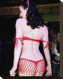 Dita Von Teese Stretched Canvas Print