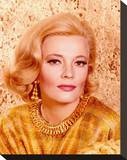 Gena Rowlands Stretched Canvas Print