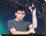 Gary Numan Stretched Canvas Print