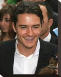 Orlando Bloom Stretched Canvas Print