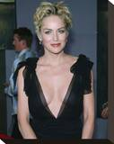 Sharon Stone Stretched Canvas Print