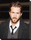 Ryan Reynolds Stretched Canvas Print