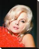 Virna Lisi Stretched Canvas Print