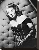 Lilli Palmer Stretched Canvas Print