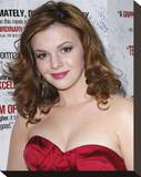 Amber Tamblyn Stretched Canvas Print