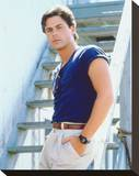 Rob Lowe Stretched Canvas Print