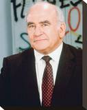 Edward Asner Stretched Canvas Print