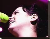 Lily Allen Stretched Canvas Print