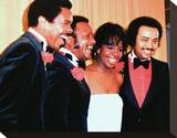 Gladys Knight & The Pips Stretched Canvas Print