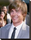 Zac Efron Stretched Canvas Print
