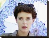 Sylvia Kristel Stretched Canvas Print