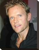 Marc Warren Stretched Canvas Print