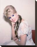 Connie Stevens Stretched Canvas Print