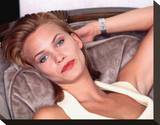 Natasha Henstridge Stretched Canvas Print