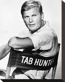 Tab Hunter Stretched Canvas Print