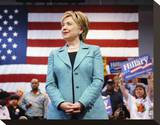 Hillary Rodham Clinton Stretched Canvas Print