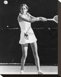 Chris Evert Stretched Canvas Print