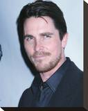 Christian Bale Stretched Canvas Print