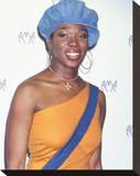 India Arie Stretched Canvas Print