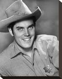 Jeffrey Hunter Stretched Canvas Print