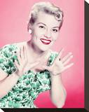 Patti Page Stretched Canvas Print