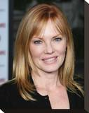 Marg Helgenberger Stretched Canvas Print