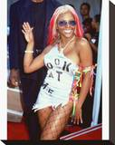 Kimberly 'Lil' Kim' Jones Stretched Canvas Print