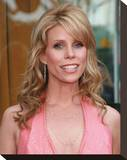 Cheryl Hines Stretched Canvas Print