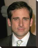 Steve Carell Stretched Canvas Print