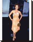 Carla Gugino Stretched Canvas Print