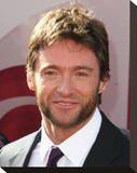 Hugh Jackman Stretched Canvas Print