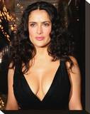 Salma Hayek Stretched Canvas Print