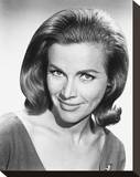 Honor Blackman Stretched Canvas Print