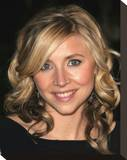 Sarah Chalke Stretched Canvas Print