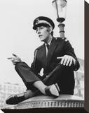 Peter Cook Stretched Canvas Print